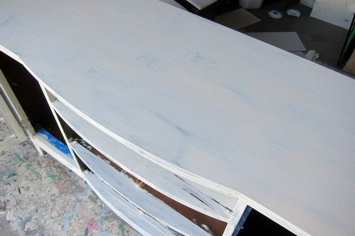 one coat of paint for furniture makeover