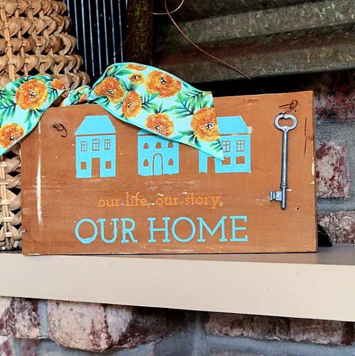 How to make a rustic wall sign